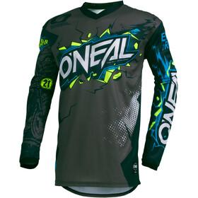 O'Neal Element Koszulka rowerowa z zamkiem błyskawicznym Młodzież, szary/czarny